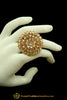 Champagne Stone Ring By Punjabi Traditional Jewellery
