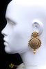 Golden Earrings By Punjabi Traditional Jewellery