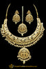 Kundan & Pearl Jadau Necklace Set By Punjabi Traditional Jewellery