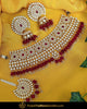 Rubby  Kundan Pearl Choker Set | Punjabi Traditional Jewellery Exclusive