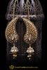 Sahare, Antique Gold & Polki Earrings By Punjabi Traditional Jewellery