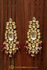 Pink Kundan Earrings By Punjabi Traditional Jewellery