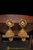 Antique Gold Jhumki Earrings By Punjabi Traditional Jewellery
