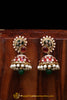 Rubby Panna Meena Jhumki Earrings By Punjabi Traditional Jewellery