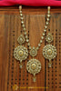 Silver Polki Necklace Set By Punjabi Traditional Jewellery