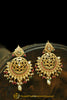 Multi Jadau Kundan Earrings By Punjabi Traditional Jewellery
