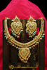 Multi Jadau Necklace Set By Punjabi Traditional Jewellery