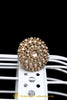 Polki Champagne Ring By Punjabi Traditional Jewellery