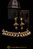 Antique Gold Necklace Set By Punjabi Traditional Jewellery
