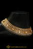 Gold Plated Polki Payal By Punjabi Traditional Jewellery