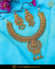 Antique Gold Finished Rubby Johda Necklace Set  | Punjabi Traditional Jewellery Exclusive