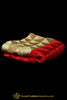 Pure Phulkari Dupatta With Golden & Red Color By Punjabi Traditional Jewellery