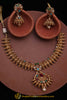 Multi Polki Antique Gold Nacklace Set By Punjabi Traditional Jewellery