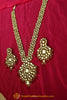 Red Kundan Only Long Necklace By Punjabi Taditional Jewellery