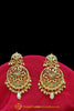 Multi Jadau Pearl Earrings By Punjabi Traditional Jewellery