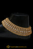 Gold Plated With Polki Payal By Punjabi Traditional Jewellery