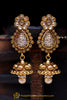 Polki Jhumki Earrings By Punjabi Traditional Jewellery