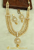 Gold Plated Polki Necklace Set By Punjabi Traditional Jewellery