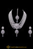 Polki Necklace Set By Punjabi Traditional Jewellery