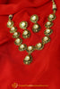 Antique Gold Finished Kundan Necklace Set By Punjabi Traditional Jewellery