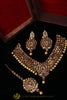 Kundan Pearl Necklace Set By Punjabi Traditional Jewellery