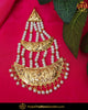 Gold Finished Patra Pearl Passa | Punjabi Traditional Jewellery Exclusive