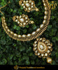 Gold Plated With Kundan Necklace Set | Punjabi Traditional Jewellery Exclusive