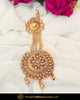Gold Finished Champagne Stone Passa | Punjabi Traditional Jewellery Exclusive