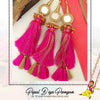 Rani Color Prandi Lottan With Mirror | Pipal Diya Peengan by Punjabi Traditional Jewellery Exclusive