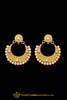 Yellow Pearl Earrings By Punjabi Traditional Jewellery