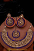 Khwabeeda Polki Necklace Set By Punjabi Traditional Jewellery