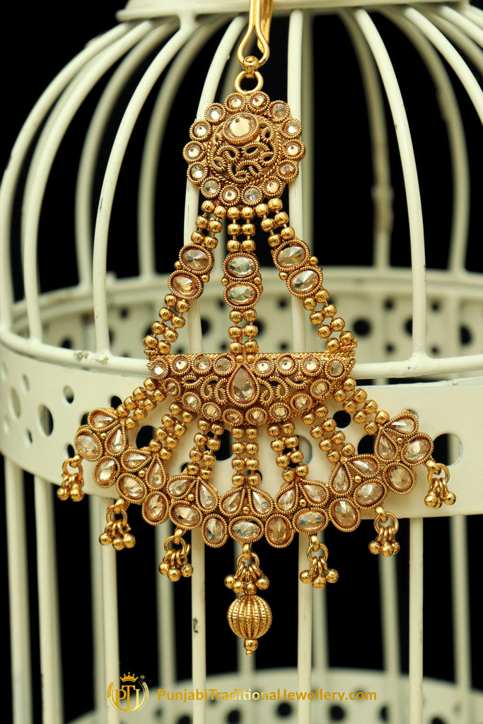 Champagne Stone Passa By Punjabi Traditional Jewellery