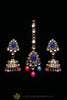 Multi Pearl Kundan Necklace Set By Punjabi Traditional Jewellery