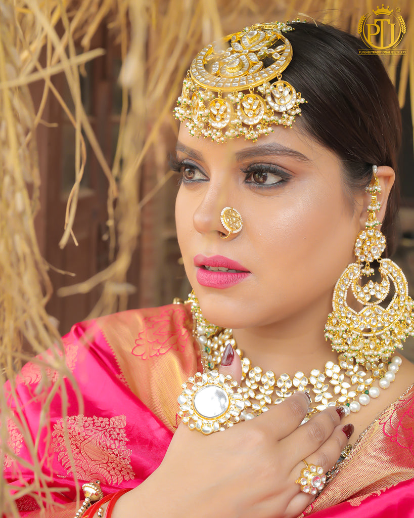 Zahra Aarsi ring Only | Rawayat by Punjabi Traditional Jewellery