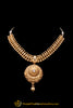 Golden Antique Gold Polki Necklace Set By Punjabi Taditional Jewellery