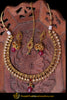 Red Polki Necklace Set By Punjabi Traditional Jewellery