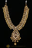 Golden & Kundan Necklace Set By Punjabi Traditional Jewellery