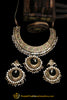 Multi Jadau Pearl Kundan Necklace Set By Punjabi Traditional Jewellery