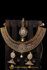 Polki Choker Necklace Set By Punjabi Traditional Jewellery