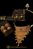 Antique Gold Choker Necklace Set By Punjabi Traditional Jewellery