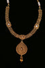 Ikhlaas Antique Gold Necklace Set By Punjabi Traditional Jewellery