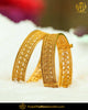 Antique Gold Plated Johda Openable Bangles (Pair) | Punjabi Traditional Jewellery Exclusive