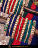 Multi Pearl Bangles Set For Both Hands | Punjabi Traditional Jewellery Exclusive