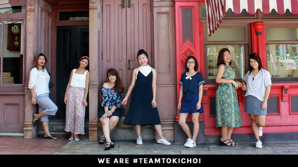 #teamtokichoi goes out to play!
