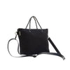 Prene Bags - THE XS BAG (BLACK) NEOPRENE CROSSBODY / TOTE BAG