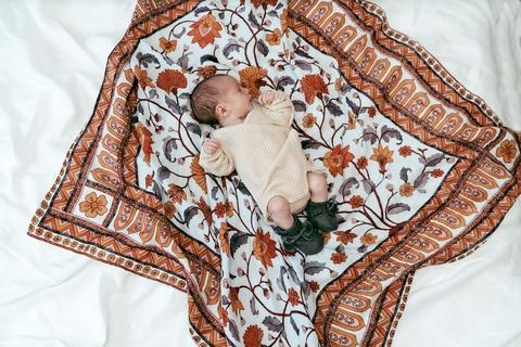 Pop Ya Tot - Buti Block Swaddle