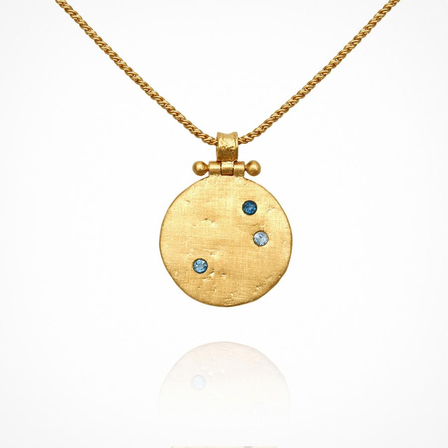 Temple of the Sun - Agni Necklace Gold
