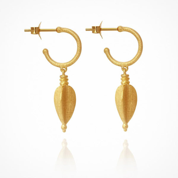 Temple of the Sun - Alena Earrings Gold