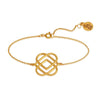 Temple of the Sun - Azar Bracelet Brushed Gold