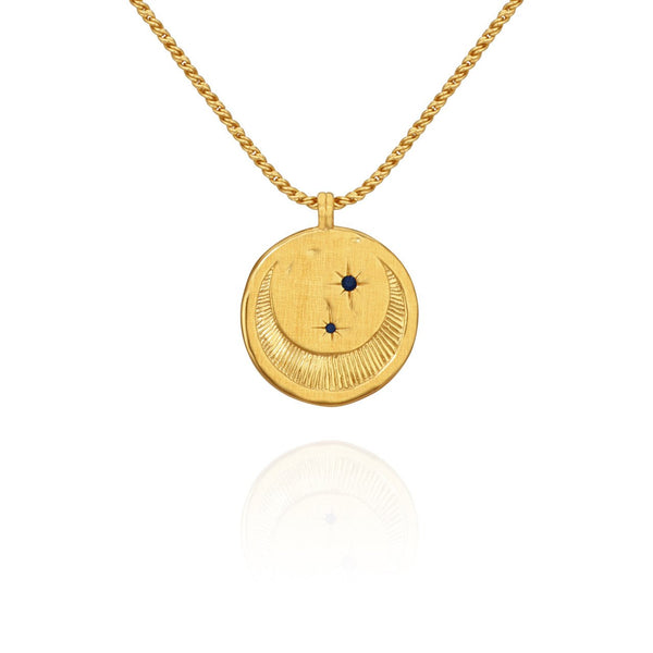 Temple of the Sun - Celeste Necklace Gold